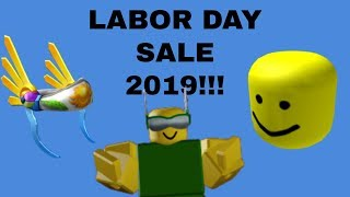 Roblox Labor Day Sale 2019 Livestream