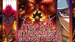 Yu-Gi-Oh: The Ten Strongest Yugioh Monsters (Highest Attack!)