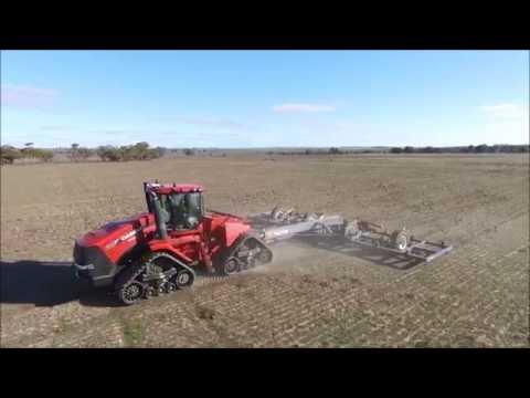 Boekemans Paxton Plow Deep Ripper Demo Via Drone FHD