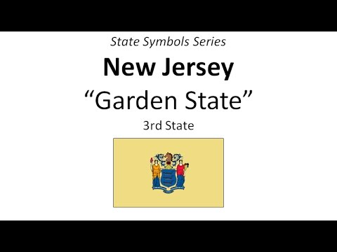 State Symbols Series - New Jersey