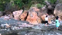 Umbrella Rocks; Agno; Pangasinan