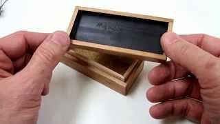 Show and Tell #2   Thumb Drive box