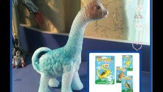 Динозавры ДИНОИНКУБАТОР Растущие Животные Растущие динозавры Игрушка динозавр гидрогель