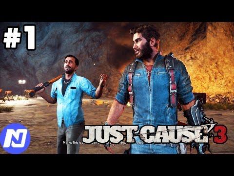 JustCause3 #1 - Làm quen với chức năng dây móc | ND Gaming
