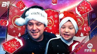 CHRISTMAS DAY PACK OPENING WITH JACK! | FIFA 18 ULTIMATE TEAM!