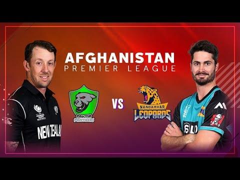APL 2018 M4: Nangarhar Leopards vs Paktia Panthers Live Stream, Afghanistan Premier League - APLT20