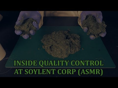 Inside Quality Control at Soylent Corp (ASMR)