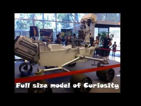 Public tour of Jet Propulsion Laboratory