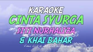 Siti Nurhaliza & Khai Bahar - Cinta Syurga Karaoke (Tanpa Vokal) Minus One