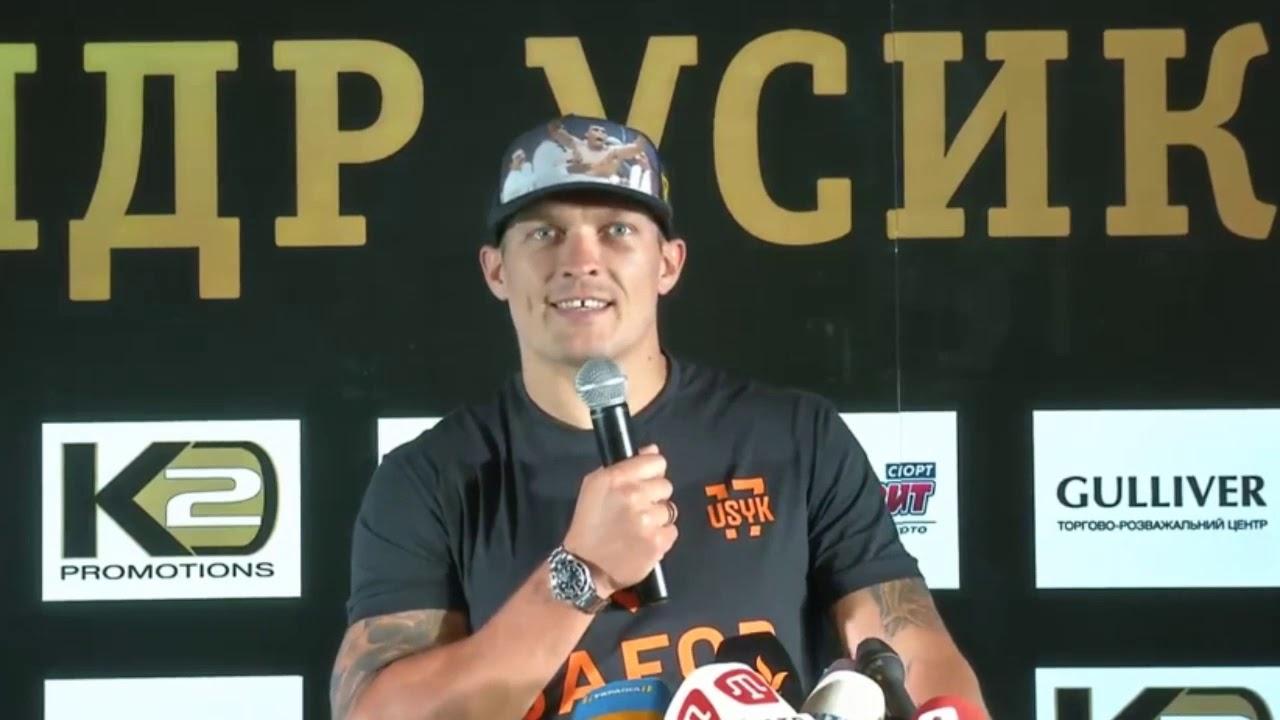 Боксёр Усик отказывается от звания Героя Украины