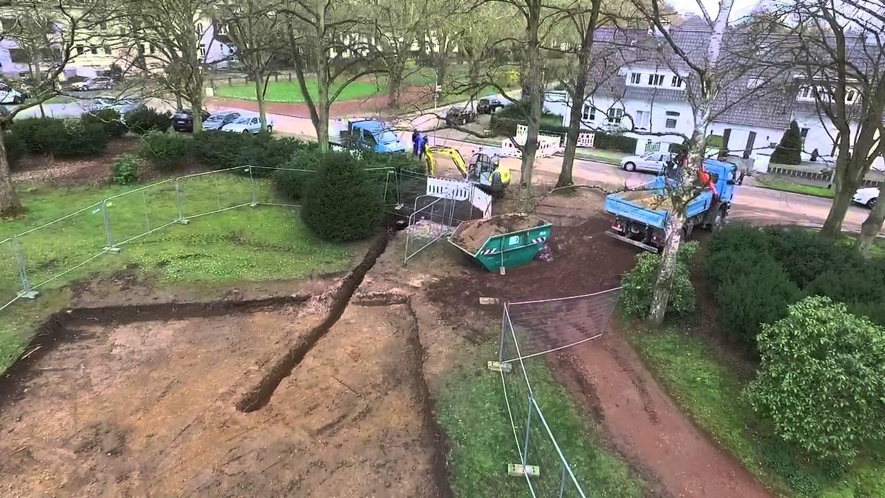 Wasserspielplatz Bau Im Bunten Garten Youtube
