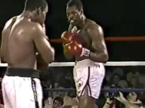 Tim Witherspoon vs Larry Holmes Round 9