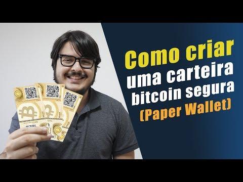 Como Criar Uma Carteira Bitcoin Segura - Paper Wallet