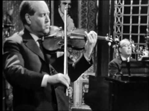 DAVID OISTRAKH & LEV OBORIN: Beethoven Sonata No. 5. 2nd Mov.