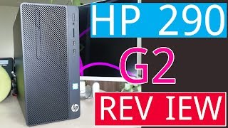 HP 290 G2 Microtower PC Unboxing & Review | Bangla Unboxing