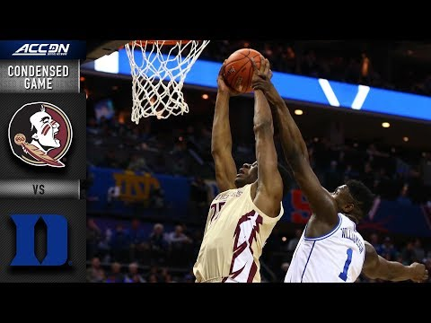 Florida State vs. Duke Condensed Game | 2018-19 ACC Basketball