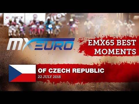 EMX65 Race2 Best Moments - Round of Czech Republic 2018 #Motocros