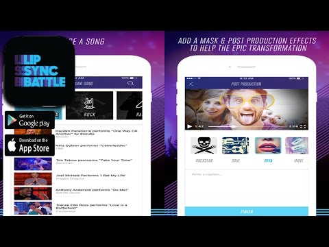 Lip Sync Battle App (By Wurrly, LLC) - Entertainment Application