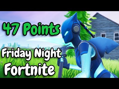 FRIDAY NIGHT FORTNITE | 47 Points | With Nickmercs, Ranger, & SypherPK