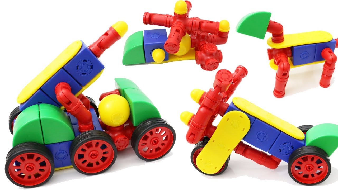 Building Blocks Toys For Children Magfun Magnetic Blocks