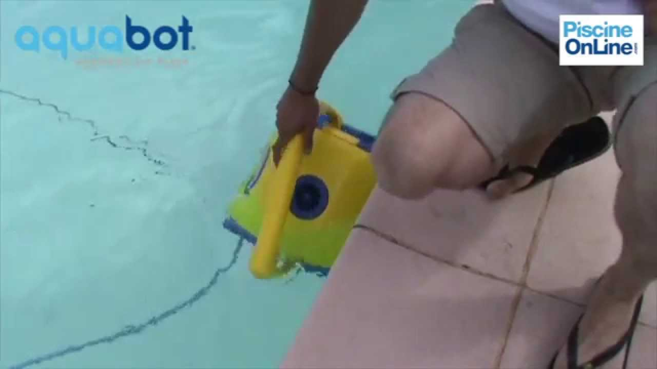 Robot piscine aquabot bravo youtube - Robot piscine max 5 ...
