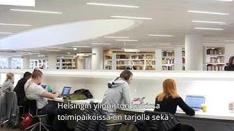 Näin asioit Helsingin yliopiston kirjastossa