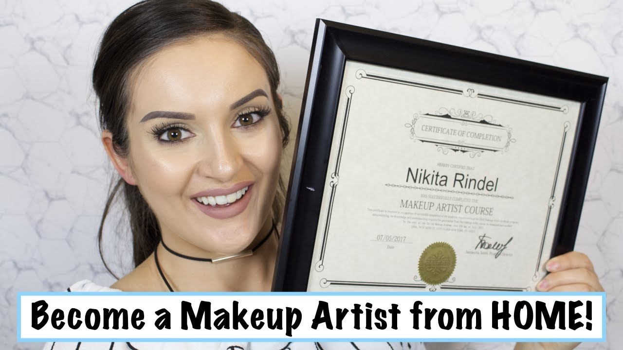 Become A Makeup Artist From Home Youtube