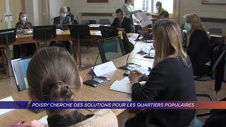 Yvelines | Poissy cherche des solutions pour les quartiers populaires