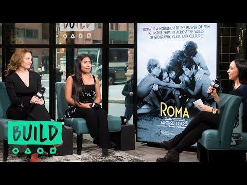 "Yalitza Aparicio & Marina de Tavira Discuss The Oscar-Nominated Film, ""Roma"""