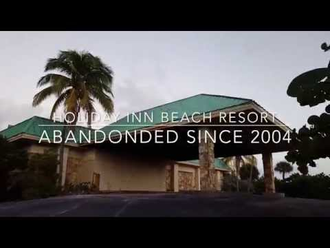 Holiday Inn Beach Resort - ABANDONED - Haunted Jensen Beach, Florida