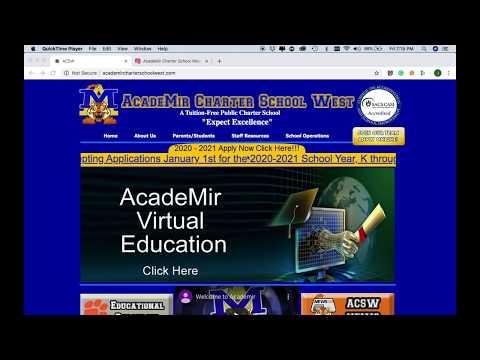 Academir Charter School West - Educación Virtual en ACSW - Version en Español