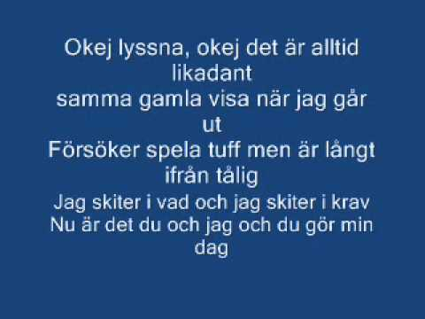 Baksmälla Petter Feat. September LYRICS!