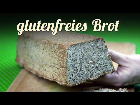 Glutenfreies Brot selber backen, neues Rezept | VEGAN