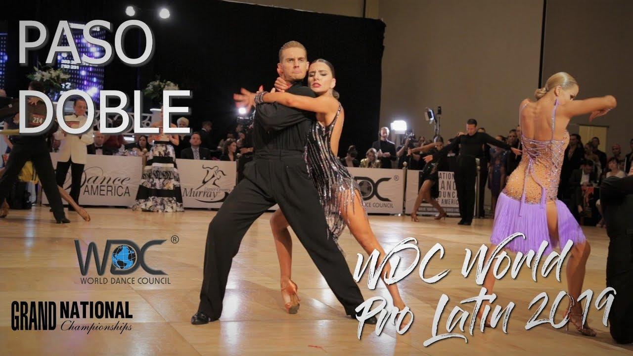 WDC World Professional Latin 2019 I Paso Doble I R2