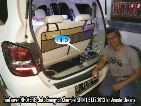 Fuel saver HHO + EFIE Joko Energy on Chevrolet SPIN 1.5L 2013