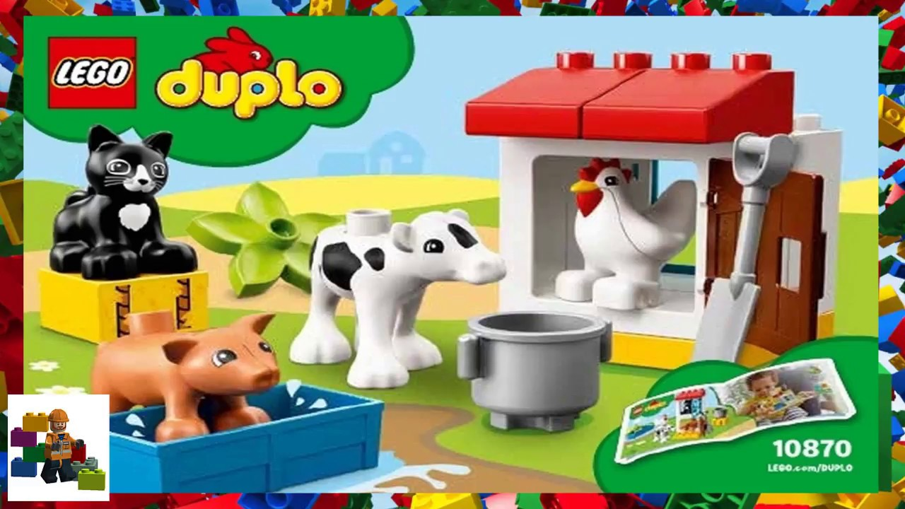 Lego Instructions Duplo 10870 Farm Animals Youtube