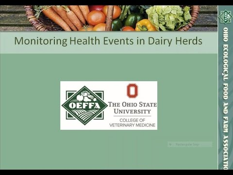 Monitoring Health Events in Dairy Herds