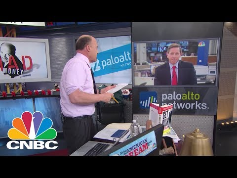 Palo Alto Networks CEO: Automated Adversaries | Mad Money | CNBC