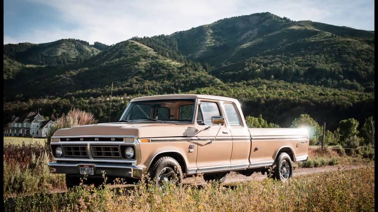 1976 Ford F250 Super Cab One Owner All Original New