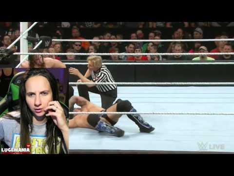 WWE Raw 3/14/16 Jericho vs Neville Hurt?
