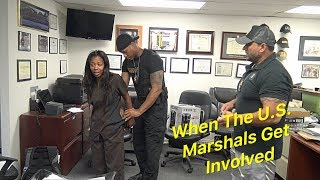 HANDED HER OFF TO THE US MARSHALS