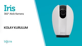 Iris - 360° Akıllı Kamera - Kurulum Videosu