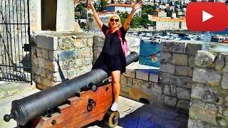 Croatia Fortress in Dubrovnik(Хорватия Крепость в Дубровнике)(Super panorama of Dubrovnik from the top of the fortress wall Супер панорама Дубровника с вершины крепостной стены., 2017-01-31T20:13:57.000Z)