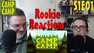 Rookie Reactions to Camp Camp - Season 1 Episode 1
