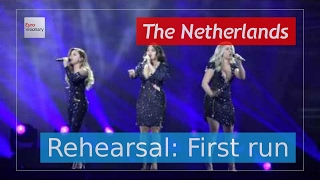 OG3NE - Lights and Shadows - The Netherlands - Live - Full Rehearsal - Eurovision 2017 (4K)