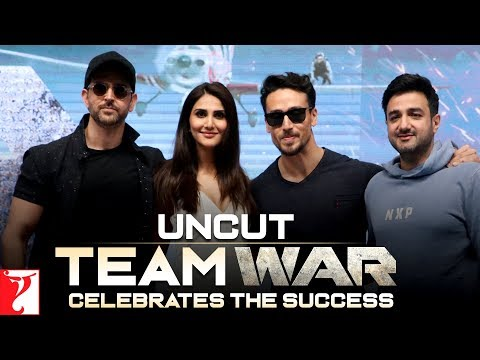 Uncut: Team War Celebrates The Success | Hrithik Roshan, Tiger Shroff, Vaani Kapoor, Siddharth Anand Mp3
