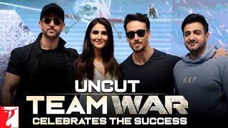 Uncut: Team War Celebrates The Success | Hrithik Roshan, Tiger Shroff, Vaani Kapoor, Siddharth Anand
