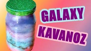 DIY | Galaxy Kavanoz Nasıl Yapılır? (Galaxy Jar)