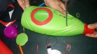 Creación de Instrumentos con Material Reciclable.