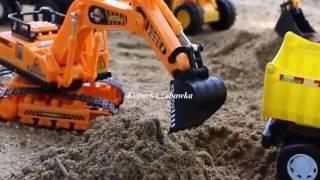 Koparki, dźwigi, samochody, maszyny budowlane Część 1